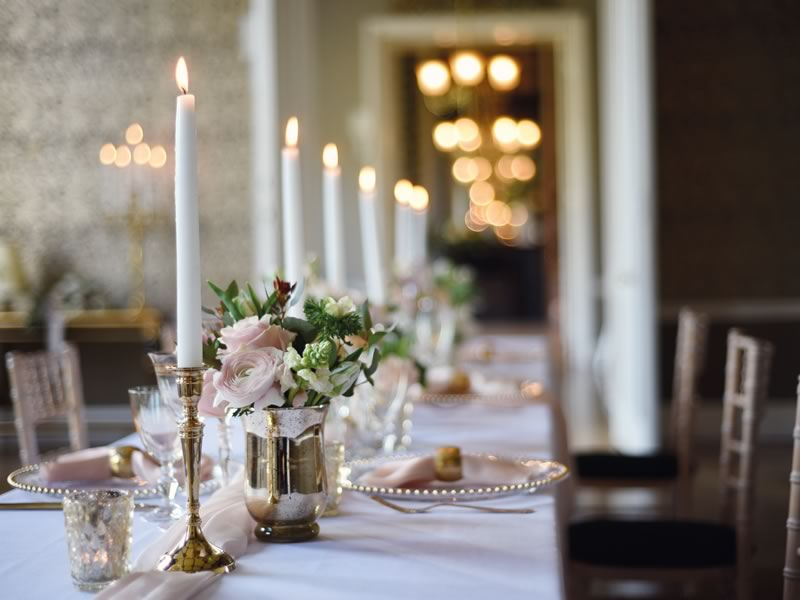 Wedding Style Inspiration: English Country Castle Romance