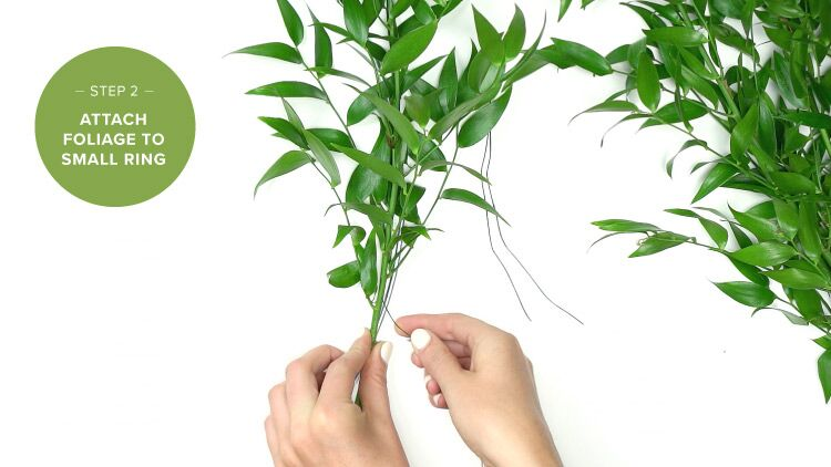 DIY Tutorial - Hanging Floral Chandelier