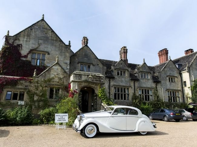 Gravetye Manor UK winter wedding venues