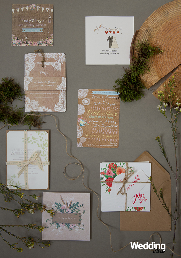 15 Rustic Wedding Stationery Ideas