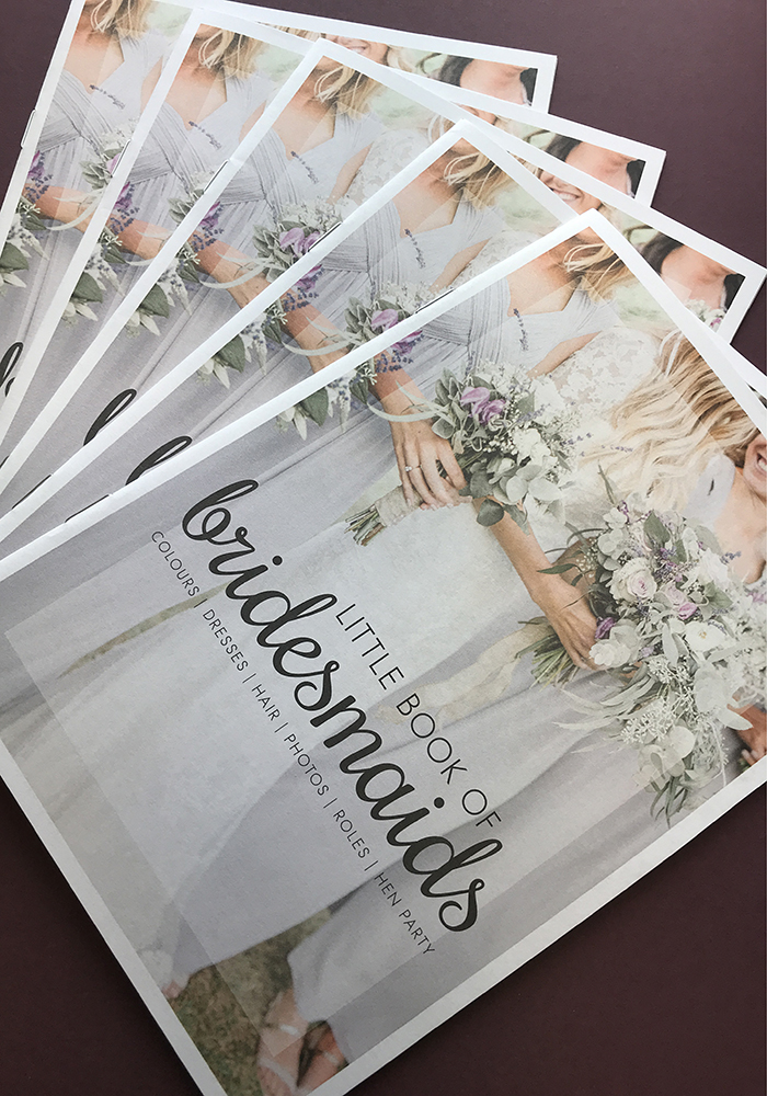 Wondering how to choose your bridesmaids, how to ask them, how to dress them, how to plan your hen do? Find the answers in the Little Book of Bridesmaids