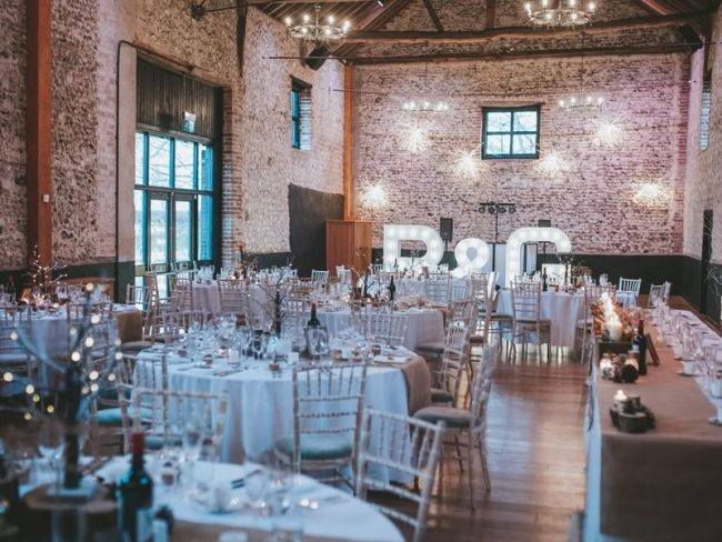 granary barns UK Winter Wedding Venues