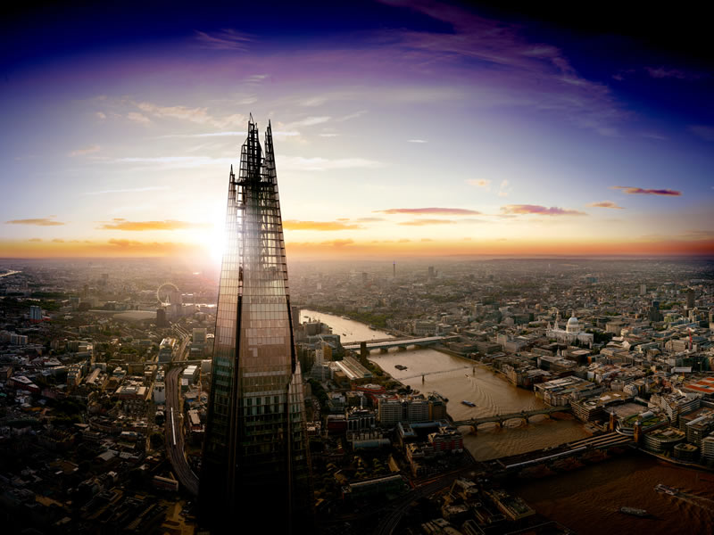One Couple To Win A Night In Britain's Highest Bedroom In The Shard On Bonfire Night!