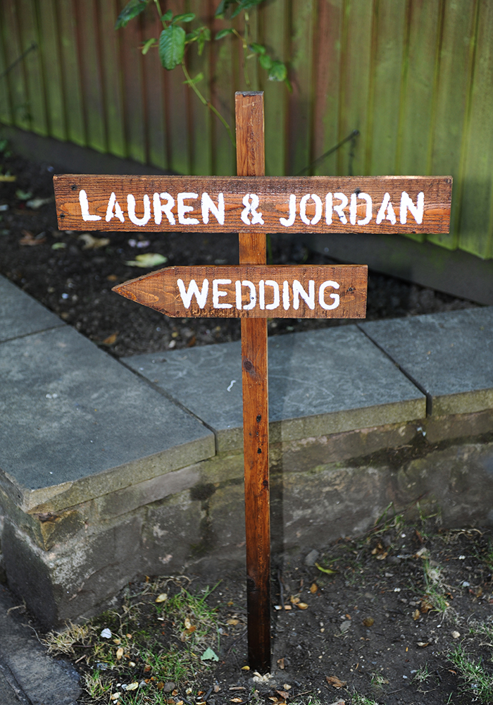 Lauren and Jordan tied the knot in Yorkshire, choosing a sage green colour scheme for their country house wedding, with pretty pink accents in the flowers