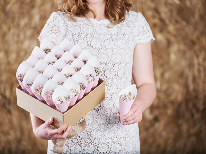 Win A Wedding Confetti Package With Shropshire Petals Worth Over £160!