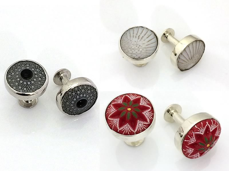 His and hers gifts: Abi Insoll Fine Jewellery vintage cufflinks
