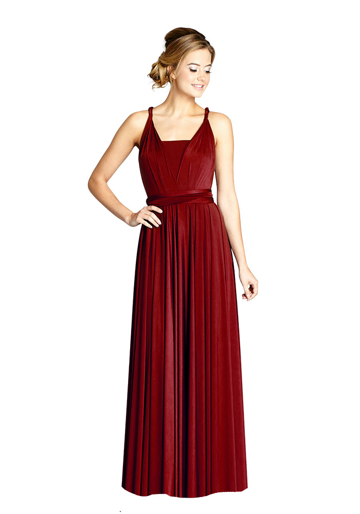 11 Beautiful Burgundy Bridesmaid Dresses Wedding Ideas