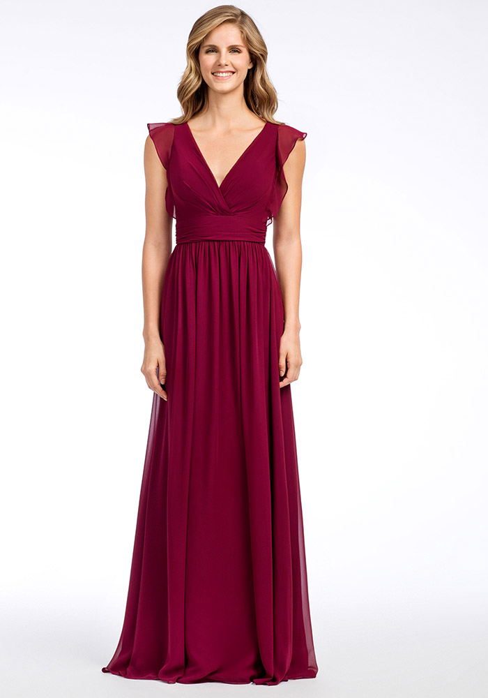 11 Beautiful Burgundy Bridesmaid Dresses