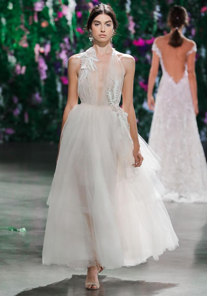 Florence By Night: Galia Lahav Couture Bridal Fall 2018
