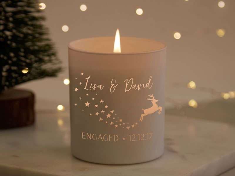 His and hers gifts: Norma & Dorothy 'Engaged' Candle