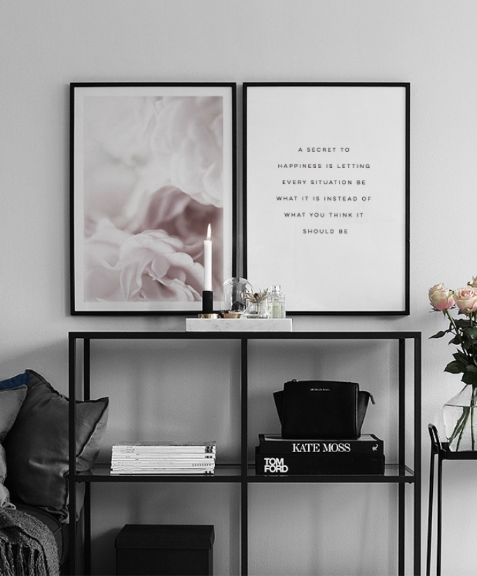 His and hers gifts: Desenio Wall Art
