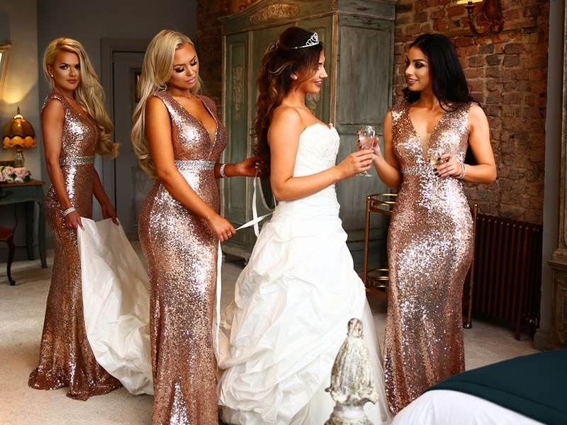 Get Dressi With On-trend Bridesmaid Styles