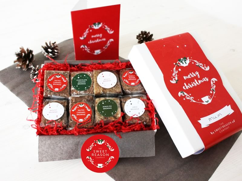 His and hers gifts: Sweet Reasons Luxury Christmas Box