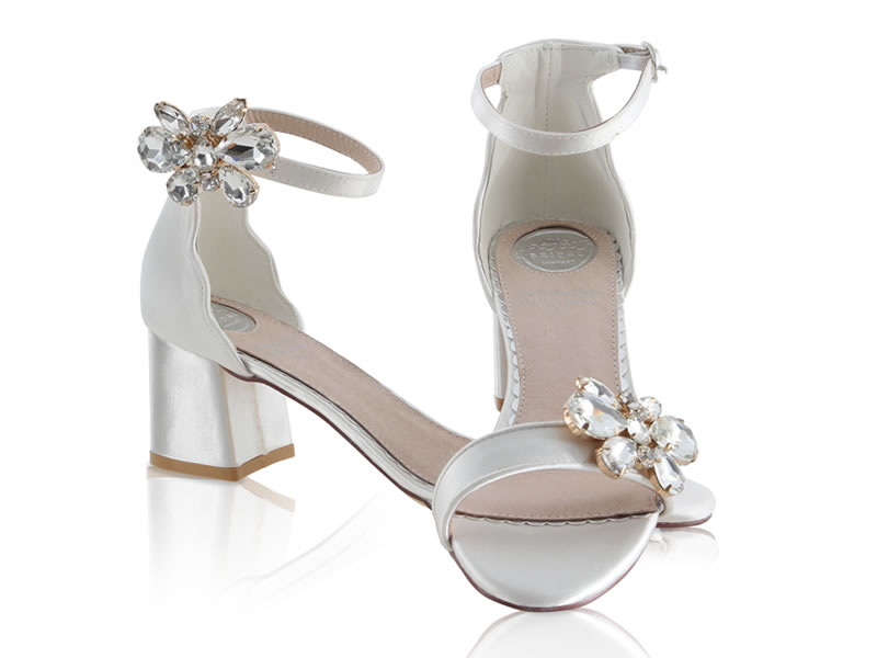 8d7976b0233 Harriet block heel The Perfect Bridal Company  Best Bridal Shoe Styles 2018  Taylor ...