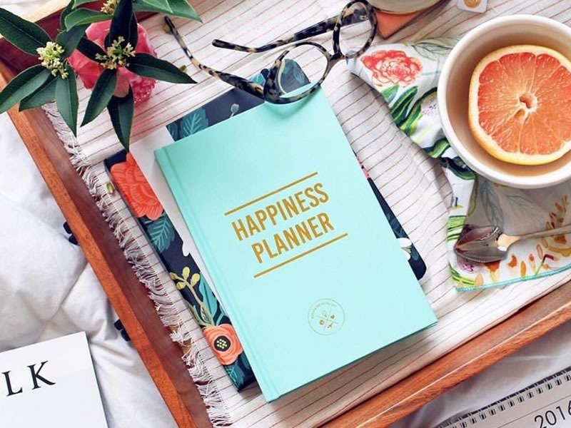 His and hers gifts: 100 day Happiness Planner