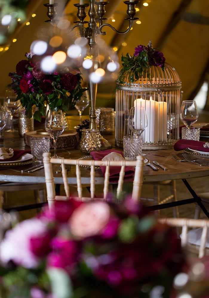 Forest Fruit Florals, Foliage And Tropical Trends Style This Modern Autumn Wedding