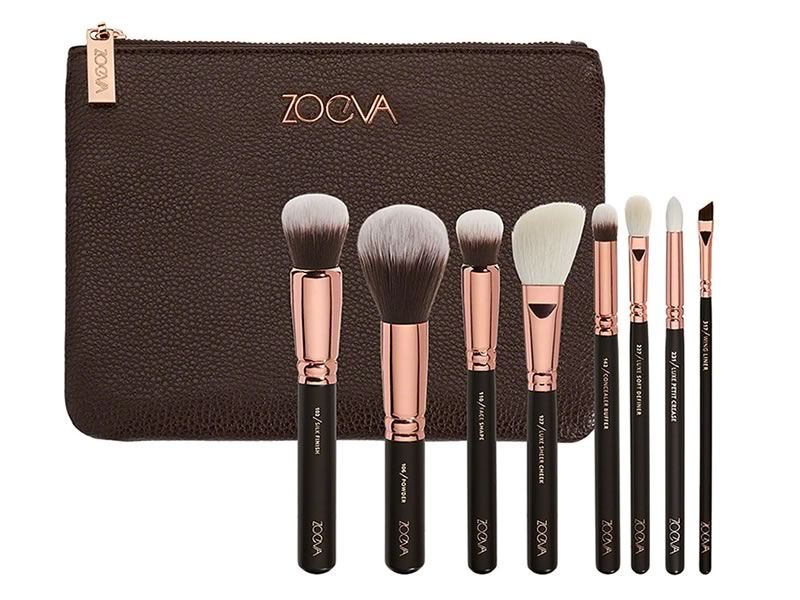 His and hers gifts: Zoeva luxury rose golden set