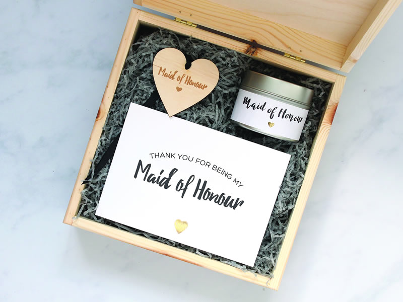 Heartfelt Bridesmaid And Maid Of Honour Gifts Wedding Ideas Magazine