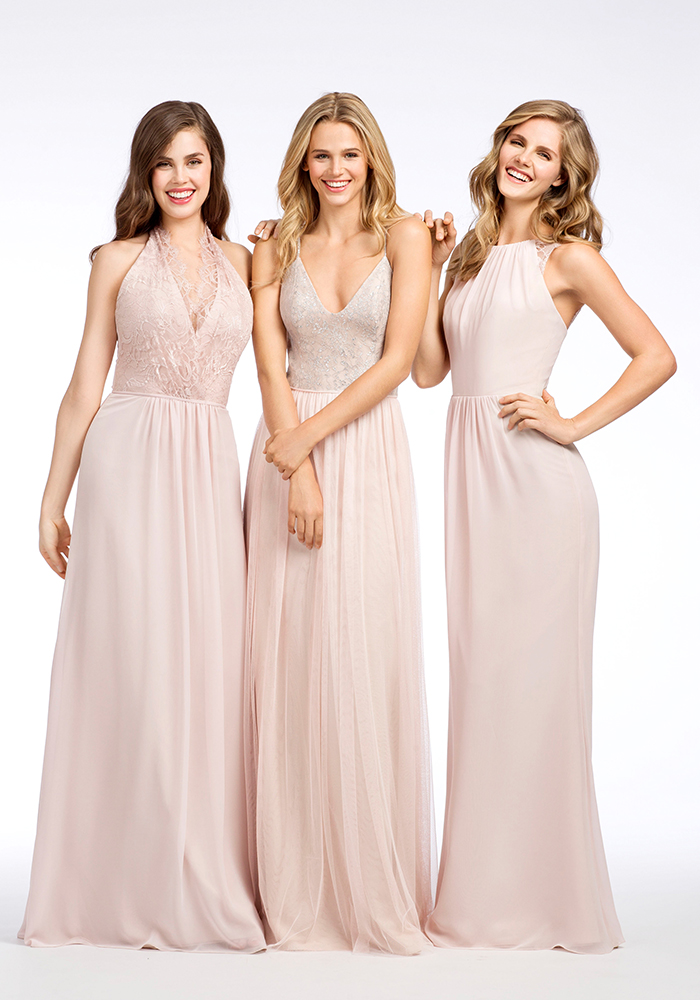 93cf3c8aa1b Pink or blush bridesmaid dresses are the perfect choice for your bridesmaids.  You ll