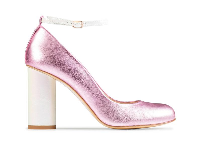 Bridal Block Heels: Charlotte Mills