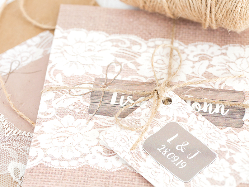 Couples planning a rustic or country wedding in the Great British countryside will LOVE Sarah Wants stationery and you could win £1,000 of it!