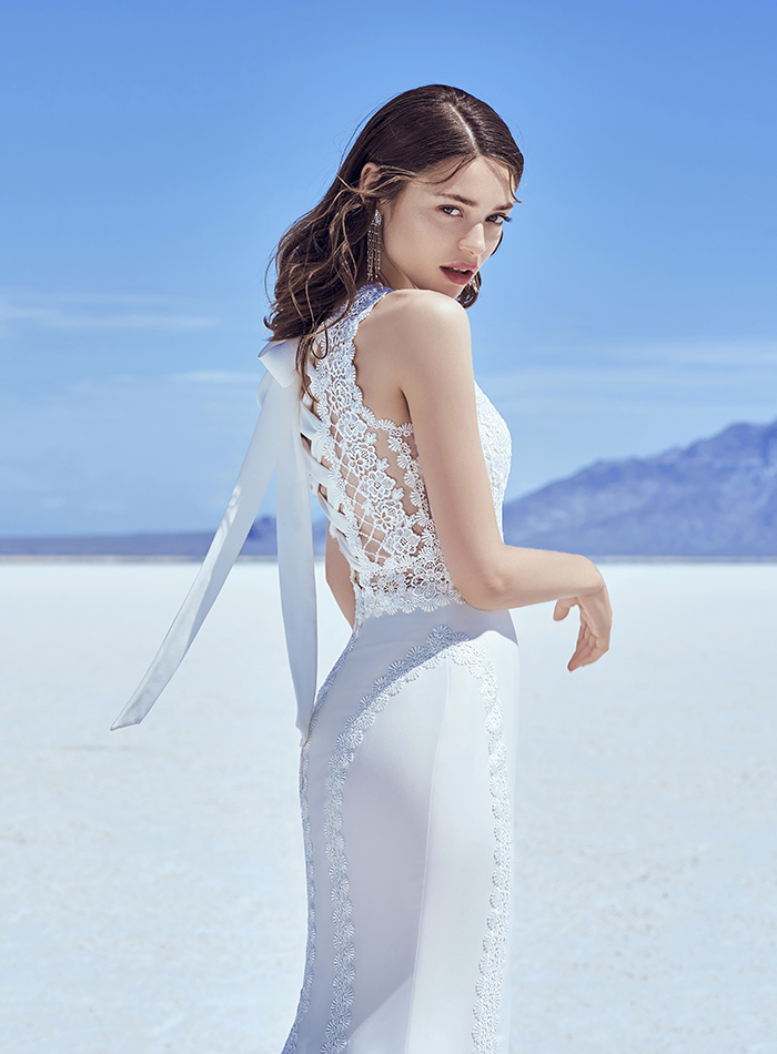 Are you a modern bride looking for a stylish, trend-setting wedding dress that makes you look amazing? You'll LOVE the Sottero & Midgley Khloe collection...