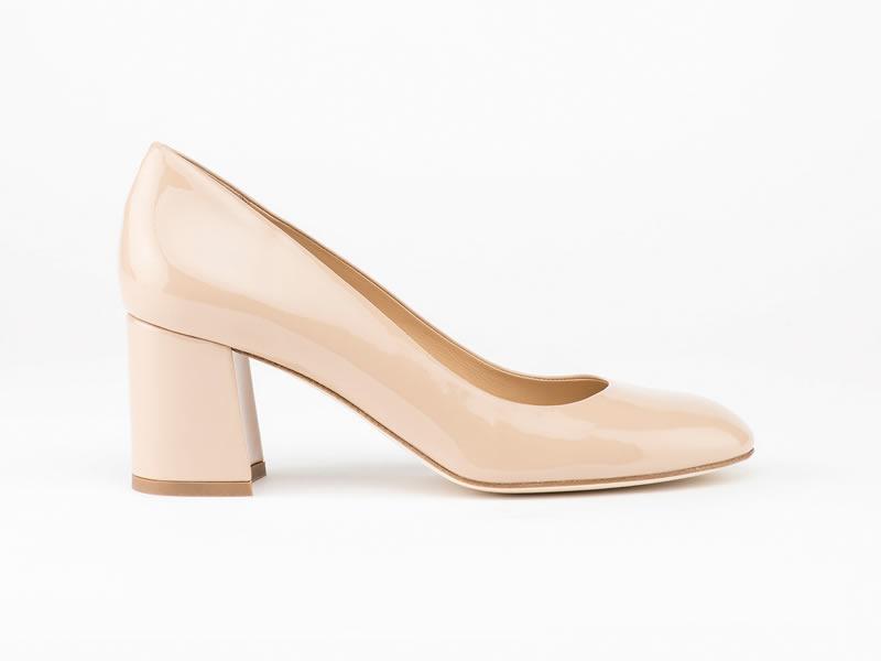 Bridal Block Heels