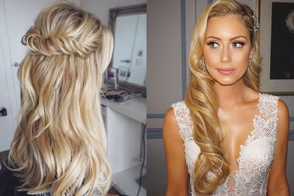 Best Hairstyles For Long Hair Wedding Hair Fashion Style: The Best Long Hair Styles For Your Wedding Day