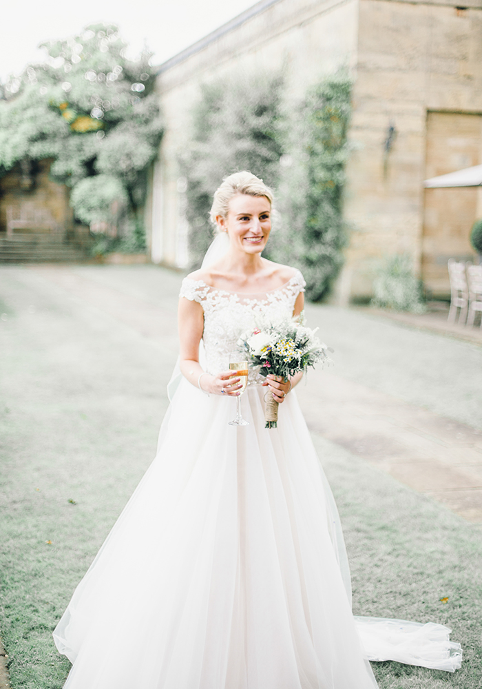 Chosen a manor house wedding venue? Take inspiration from Elaine and Ben, who celebrated their marriage with a whimsical country house wedding...