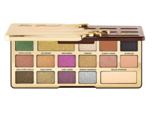 too faced chocolate gold palette wedding makeup for all skin tones