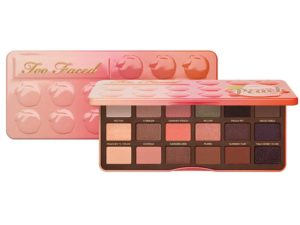 too faced just peachy eyeshadow palette wedding makeup for all skin tones