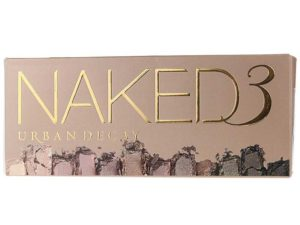 Urban decay naked 3 palette for wedding makeup