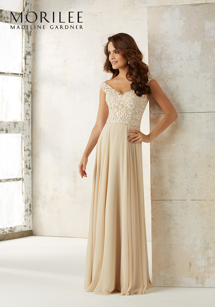 ea29f78a6f8 Gold bridesmaid dresses will give your best girls instant glamour