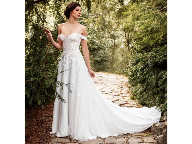 Jude Jowilson Ginger wedding dress Jude Jowilson: the Latest Bridal Collection From the New York-Based Designer