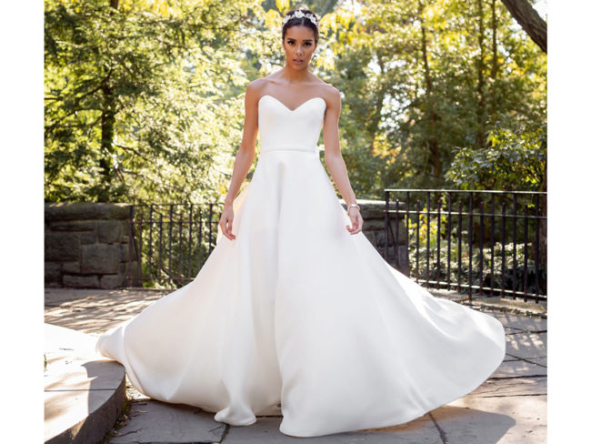 Jude Jowilson Leslie wedding dress Jude Jowilson: the Latest Bridal Collection From the New York-Based Designer