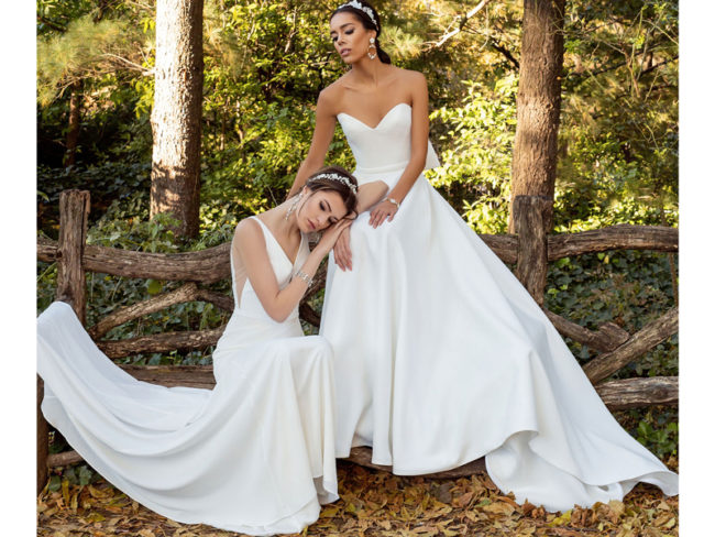 Jude Jowilson Marion and Leslie wedding dresses Jude Jowilson: the Latest Bridal Collection From the New York-Based Designer