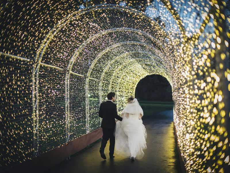 Kew Gradens UK Winter Wedding Venues