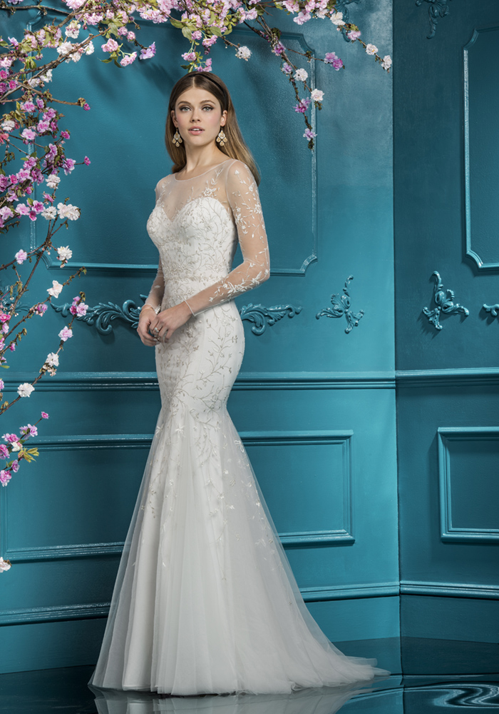 ellisbridals.co.uk 2018 collection EB 12272 Front