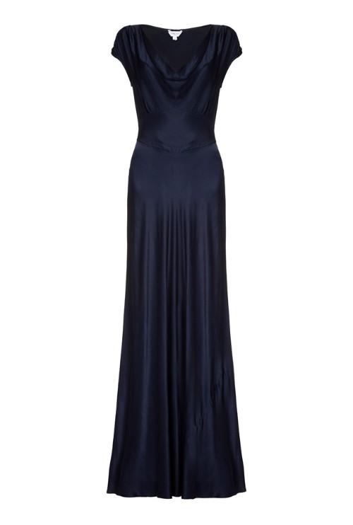 ghost-navy-bridesmaid-dress