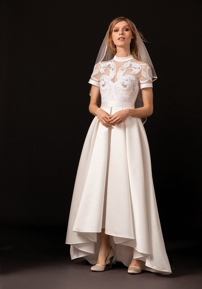 temperleylondon.com dahlia collection 2018 Temperly Bridal LOOK 3 VIRGINIE