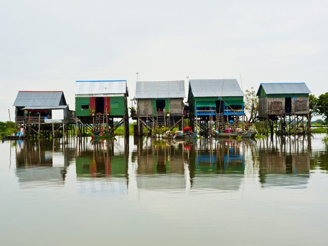 Floating Village Cambodia - 25 World-Beating Honeymoon Rooms With A View!