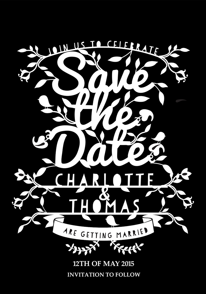 Camilla Save The Date, www.childpaperco.co.uk, £1.59