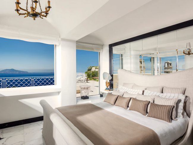 Capri Palace - 25 World-Beating Honeymoon Rooms With A View!