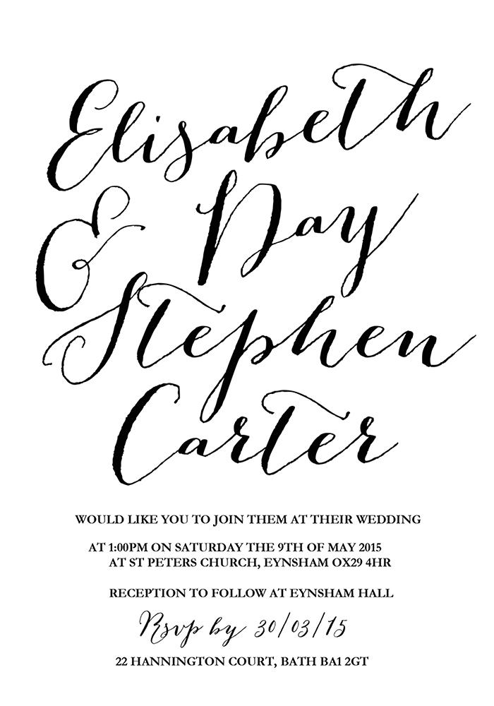 Carissa Invitation, www.childpaperco.co.uk, £1.89