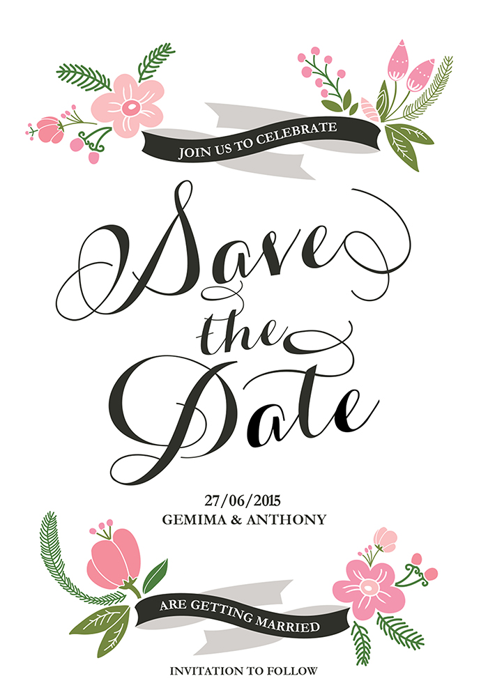 Cissy Save The Date, www.childpaperco.co.uk, £1.59