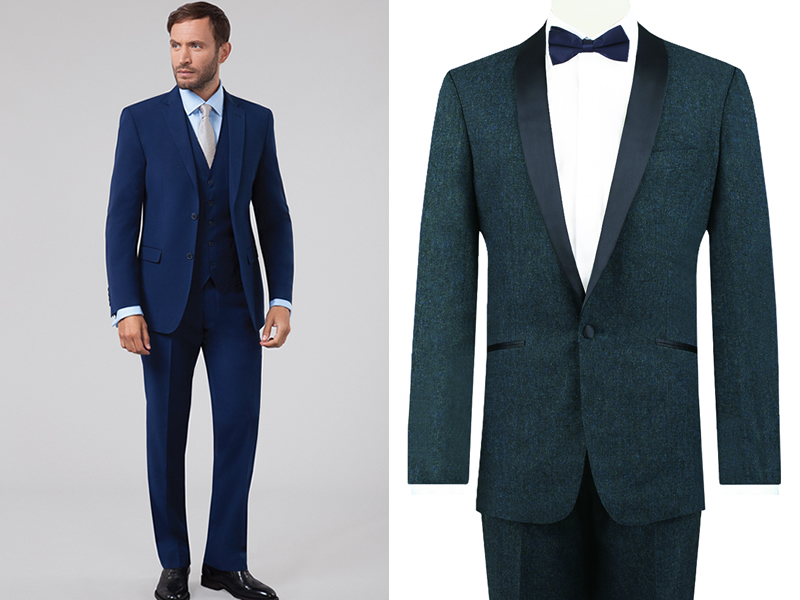 Enter to win a pair of stylish groomswear suits worth up to £350!