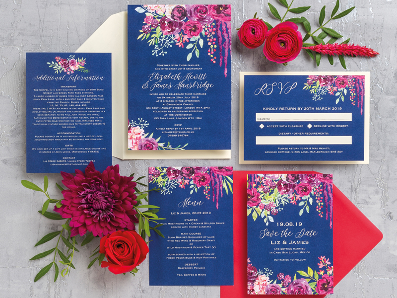 WIN Hip Hip Hooray Wedding Stationery