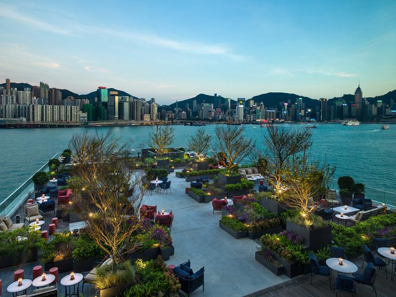 Kerry Hotel Hong Kong Red Sugar Terrace