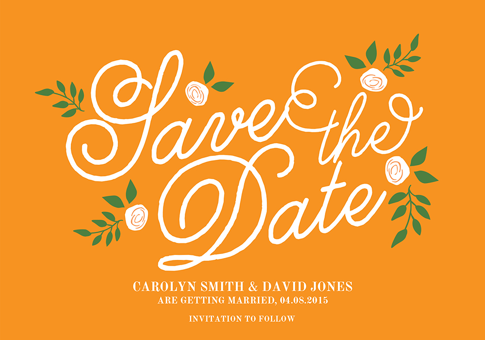 Lara Save The Date, www.childpaperco.co.uk, £1.59