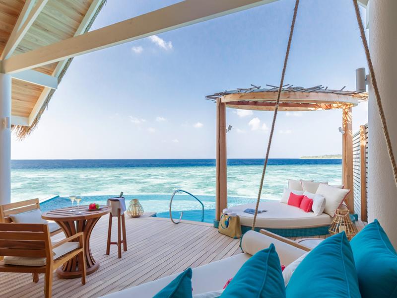 Milaidhoo Maldives accomm 1 water pool villa deck